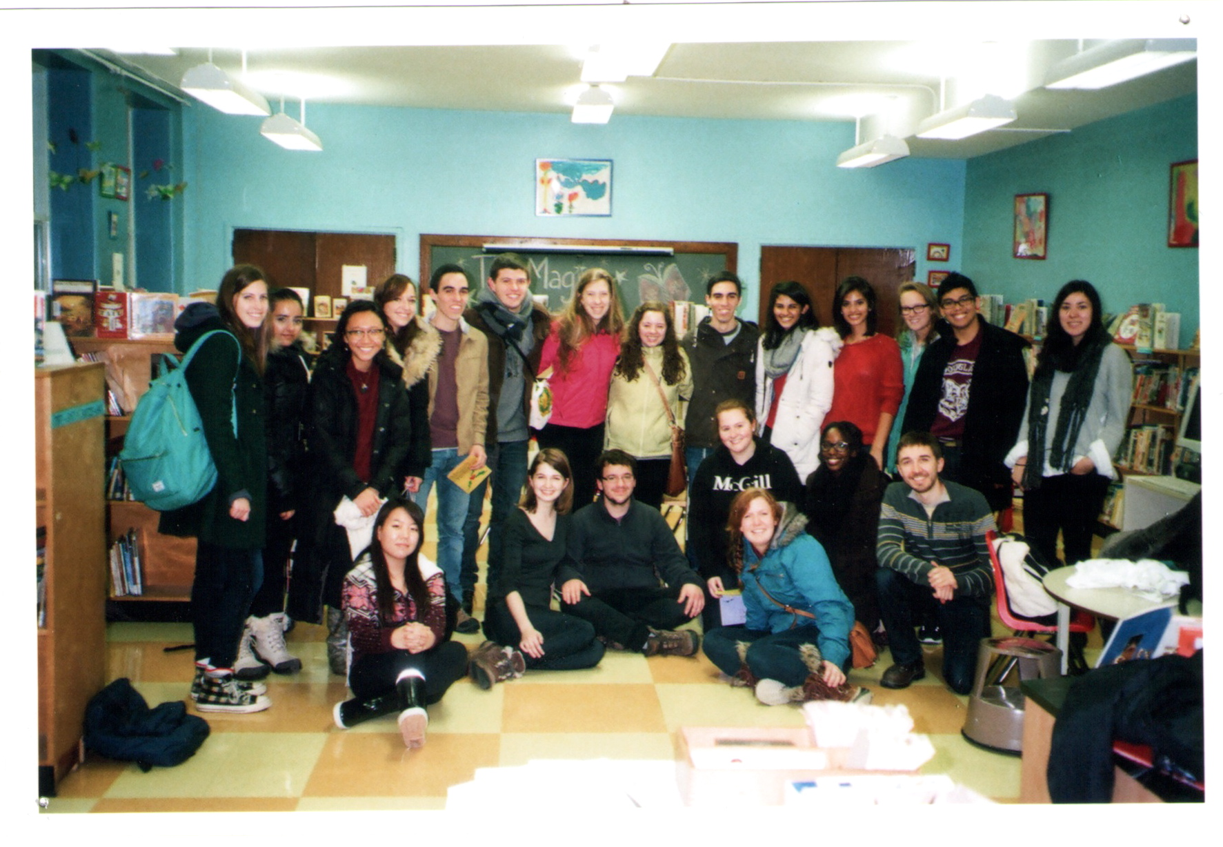 Last day at Verdun – Fall 2013 group shot!